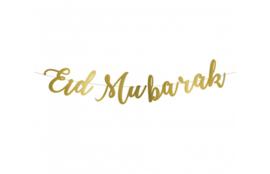 Eid mubarak slinger goud