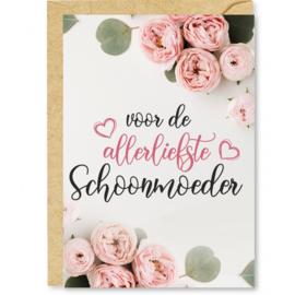 Wenskaart Voor de allerliefste schoonmoeder