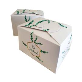 Koekjes/cadeau doos Eucalyptus