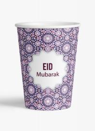 Eid Mubarak beker Mozaïek (set van 6)