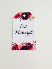 Eid Mubarak label rozen