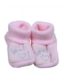 I love Oemie baby slofjes roze