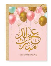 Wenskaart Eid Mubarak