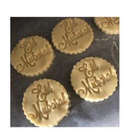 Eid Mubarak koekjes stempel