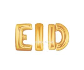 Eid Folie ballon Goud