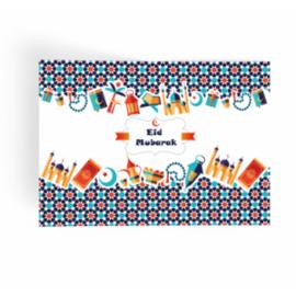 Eid Mubarak Placemat Feest (papier)