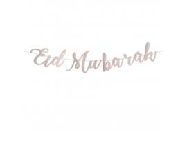 Eid mubarak slinger Taupe