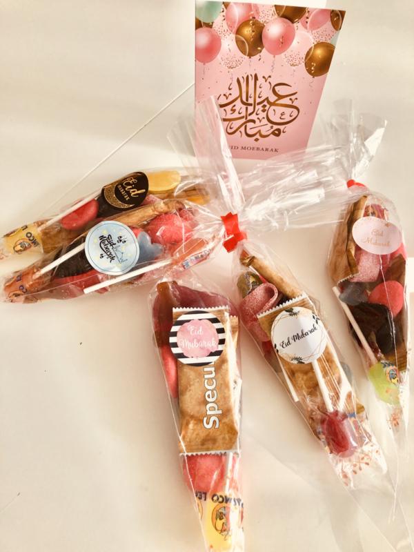 Eid Mubarak  puntzak snoep XL