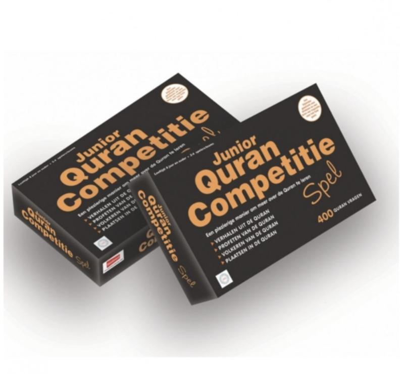 Junior Quran Competitie spel (zwart)