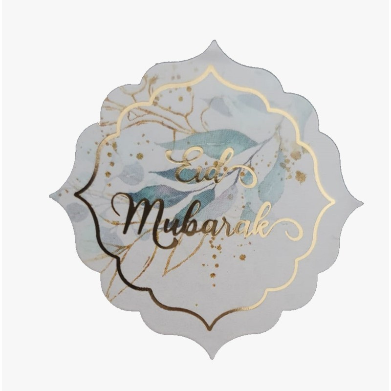 Eid stickers gold (vel van 12)