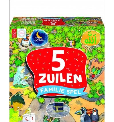 5 zuilen spel multicolor