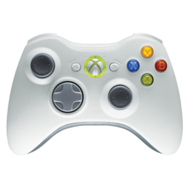 Xbox 360 Controller wit of zwart