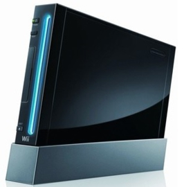 Nintendo Wii Zwart