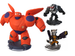 Disney Infinity 2.0 Figuren & Crystals