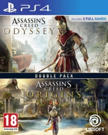 Assassin's Creed Odyssey + Assassin's Origins Double Pack