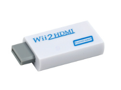 Wii2HDMI Adapter wit of zwart