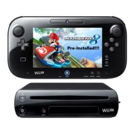 Wii U Incl Mario Kart 8 Preinstalled