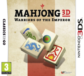 Mahjong 3D Warriors of the Emperor