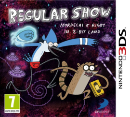 Regular Show Mordecai and Rigby in 8Bit Land