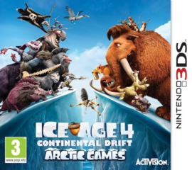 Ice Age 4 Continental Drift - Arctic Games