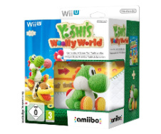 Yoshi's Woolly World + Amiibo in doos
