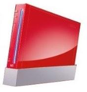 Nintendo Wii Rood