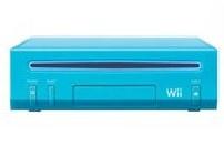 Nintendo Wii Blauw