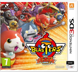 Yo-Kai Watch Blasters Red Cat Corps