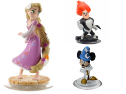 Disney Infinity 1.0 Figuren & Crystals