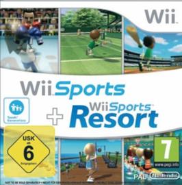Wii + Wii Sports Resort Cardboard