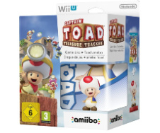 Captain Toad Treasure Tracker + Amiibo in doos