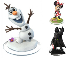 Disney Infinity 3.0 Figuren & Crystals