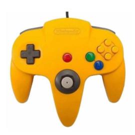 Nintendo 64 Controller Geel
