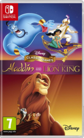 Disney Classic Games Alladin and The Lion King