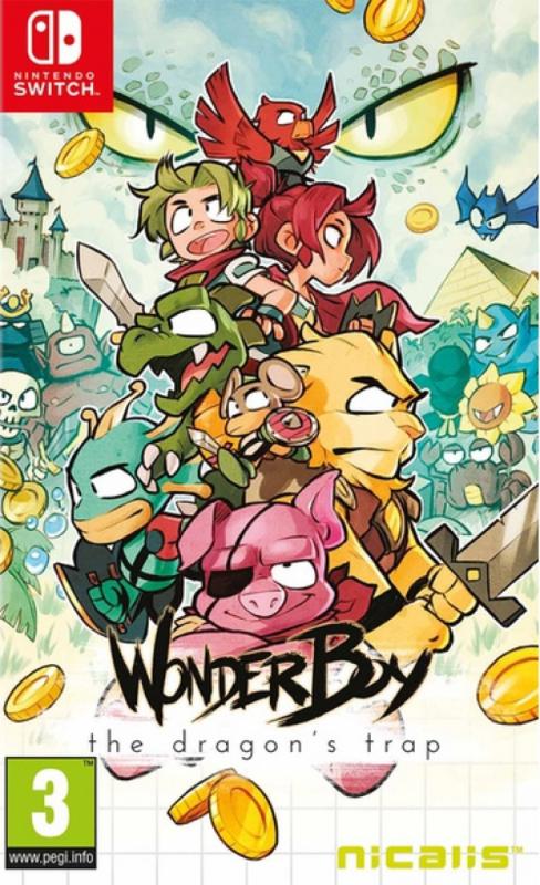 Wonderboy The Dragon Trap