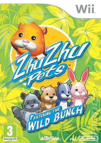 Zhu Zhu Pets Featuring the Wild Bunch