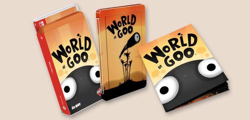 World of Goo Steelbook Edition