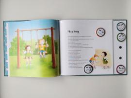 interactief kinderboek 'Mo en Belle volgen hun buikgevoel'