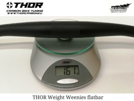 THOR MTB Sturen, Weight Weenies, Flat of riser
