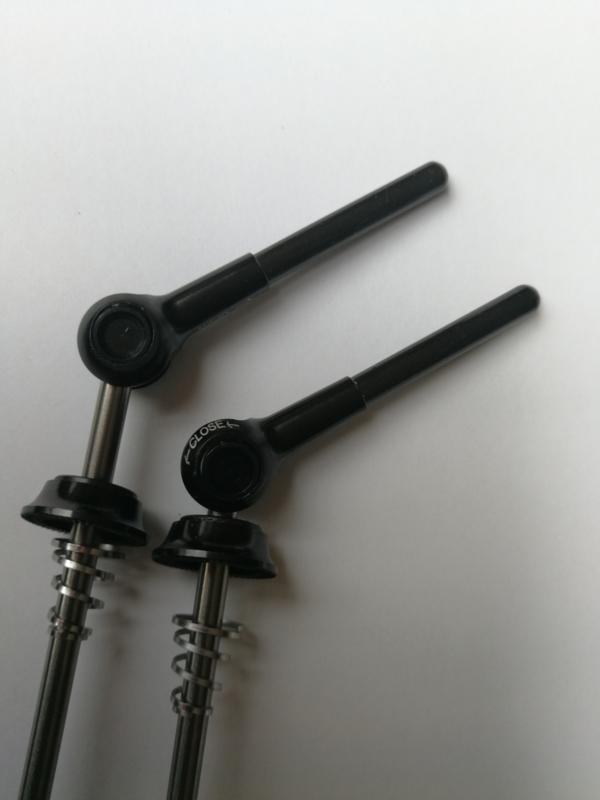 Titanium snelspanners, 44 gram per set