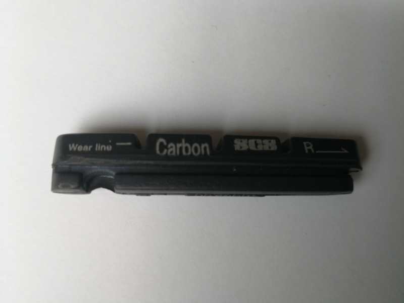 Remblokken voor Carbon velgen