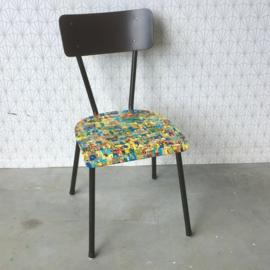 Vintage `Kuifje` stoel