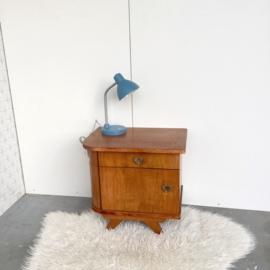 Blauw bureaulampje