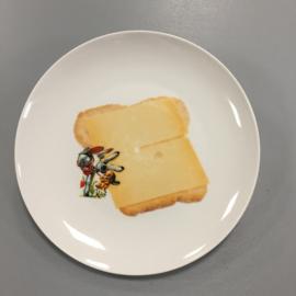 Wandbordje `broodje kaas`