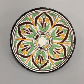 Wandbordje `Marrakech groen`