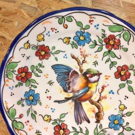 Wandbord vogel