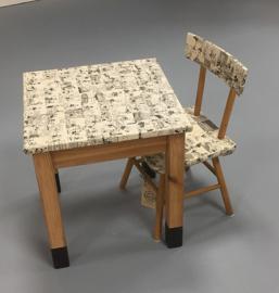 DD tafel & stoeltje