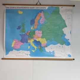 Europa schoolkaart
