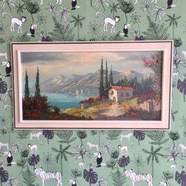 Oliefverf schilderij