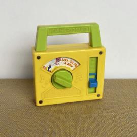 FP vintage radio
